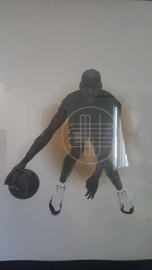 Framed Michael Jordan Poster for Sale in Huntington Beach, CA