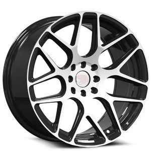 "Brand New 17"" SP47 5x114.3Black Machine Wheels for Sale in Miami, FL"