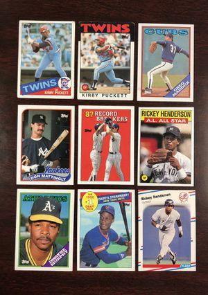 80's Baseball Cards MAKE OFFER for Sale in Zolfo Springs, FL