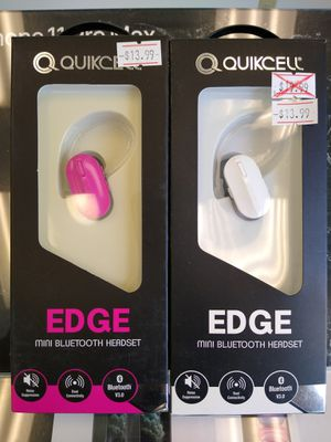 Quikcell Bluetooth earpiece for Sale in Wausau, WI
