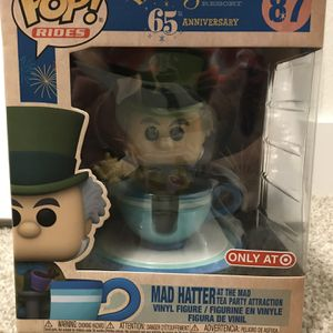 NEW Funko Pop Rides Mad Hatter in Teacup #87 Disneyland 65th Target Only for Sale in Bothell, WA
