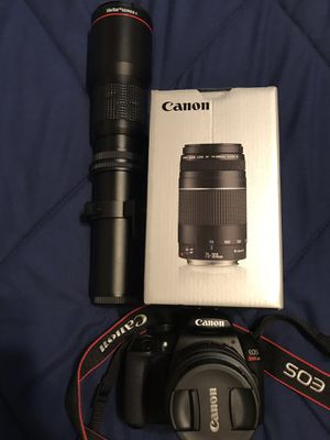 Canon eos rebel T6 for Sale in Charlotte, NC