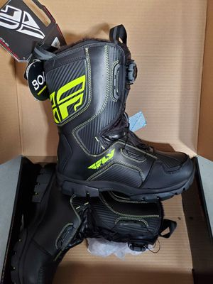 New Fly Racing HI-VIS Marker BOA boots men 11 women 13 for Sale in Bonney Lake, WA