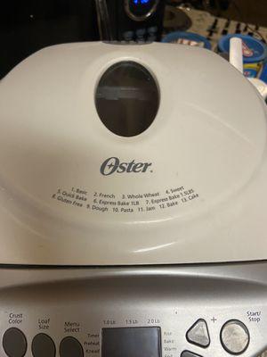 Oster Bread Maker for Sale in San Antonio, TX