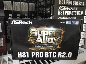 ASRock H81 Pro BTC R2.0 Cryptocurrency Motherboard (NEW) for Sale for sale  Kenilworth, NJ