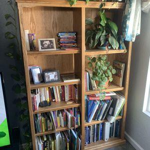 Oak Bookcase for Sale in San Jose, CA