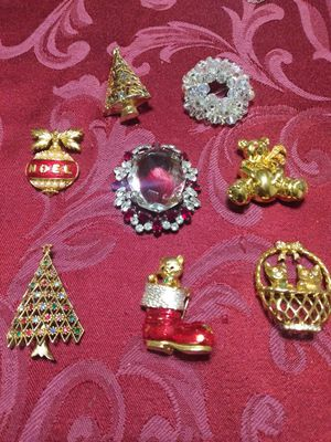 Vintage brooches for Sale in Fullerton, CA