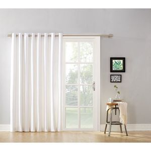 Curtain Panel with Grommets and Detachable Wand Arctic White Size:10 x 8 x 4 Inches for Sale in Hoboken, NJ