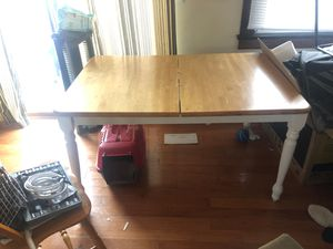 Wooden Dining table (PICK UP ONLY) for Sale in Buffalo, NY