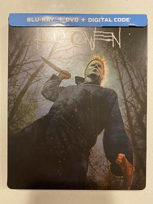 Halloween(2018) Bluray Dvd Steelbook for Sale in Aurora, CO