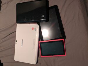 Various lot of tablets and 2 in 1s for Sale in Hampton, GA
