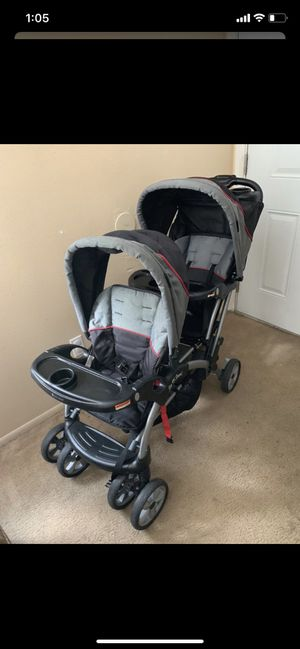 Baby Trend Sit n Stand Double Stroller for Sale in Zephyrhills, FL
