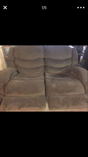 2 PC Fully Reclining/Rocking Couch Set for Sale in Arlington, VA