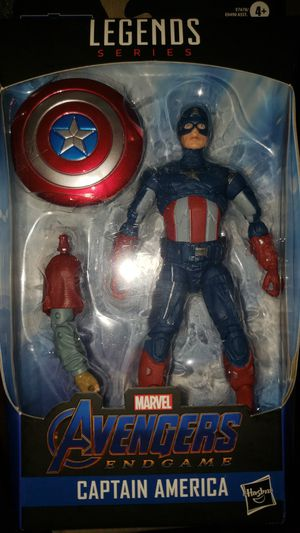 Marvel Legends Avengers Captain America Thor Baf for Sale in Chicago, IL