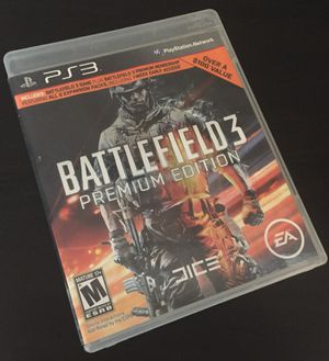 BATTLEFIELD 3 PREMIUM EDITION PLAYSTATION 3 PS3 Complete In box for Sale in Pittsburgh, PA