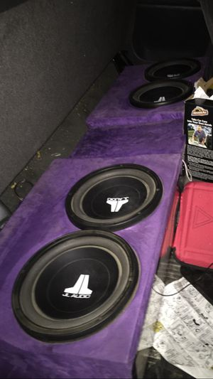 Jl audio speakers for Sale in Madera, CA
