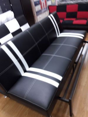 New leather futon bed for Sale in Los Angeles, CA