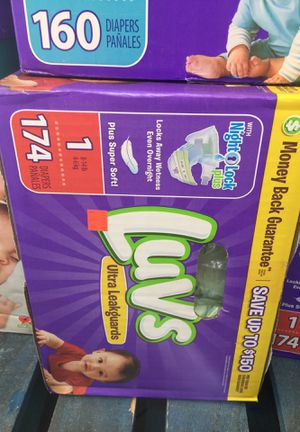 Luvs diapers #1 8-14LB for Sale in Rosemead, CA