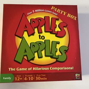 Apples To Apples Board Game - Brand New for Sale in San Diego, CA