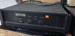 JBL MPX1200 Power Amp for Sale in Miami, FL