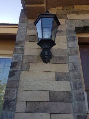 I have a pair of outdoor lamps/chandelier lights for Sale in San Diego, CA