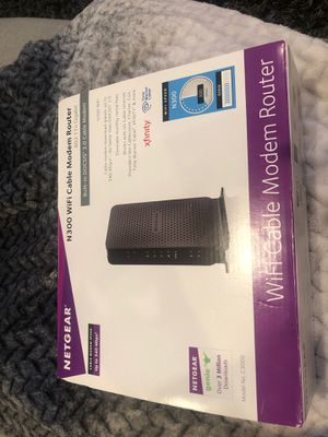 N300 WiFi Cable Modem Router for Sale in San Diego, CA