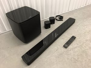 Bose SoundTouch 300 Sound Bar + Bass Module 700 + Surround Speakers for Sale in Clearwater, FL