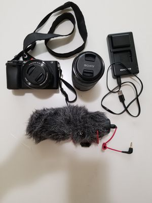 Sony A6300 with 2 Lenses!! for Sale in Torrance, CA