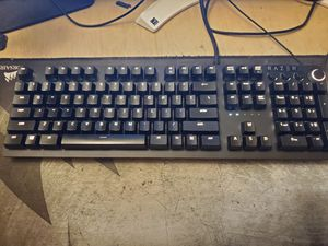 Gaming keyboard Razer huntsman elite (only keyboard wrist pad is included if you want) for Sale in Fullerton, CA
