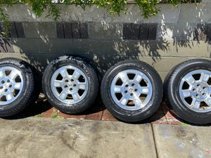 SET OF 4 TIRES for Sale in Modesto, CA