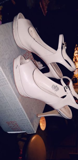 Nude nine west heels for Sale in Anaheim, CA