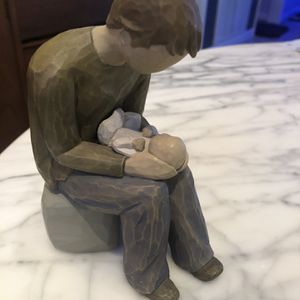 Willow Tree New Dad Sculptured Hand Painted Figure. for Sale in Punta Gorda, FL