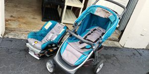 Chicco car seat stroller combo... Used but good.. West kendall pickup..firm thanks for Sale in Miami, FL