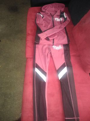Pink legging set with hoodie for Sale in Amarillo, TX