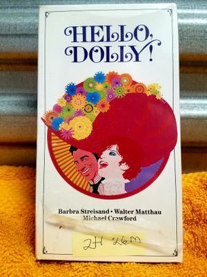 HELLO DOLLY 1969 📼 VHS BARBARA STREISAND WALTER MATTHAU for Sale in San Diego, CA