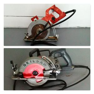 Milwaukee & SkilSaw worm gear power saws 7 1/4 for Sale in Wood Village, OR
