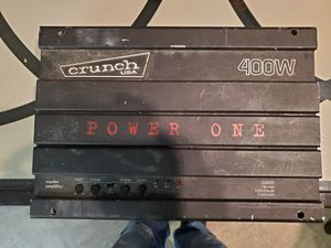 Crunch usa amplifier for Sale in Pittsburgh, PA