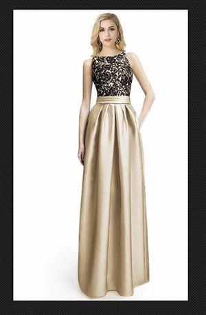 Prom Dress, Khaki, size 12 for Sale in Las Vegas, NV