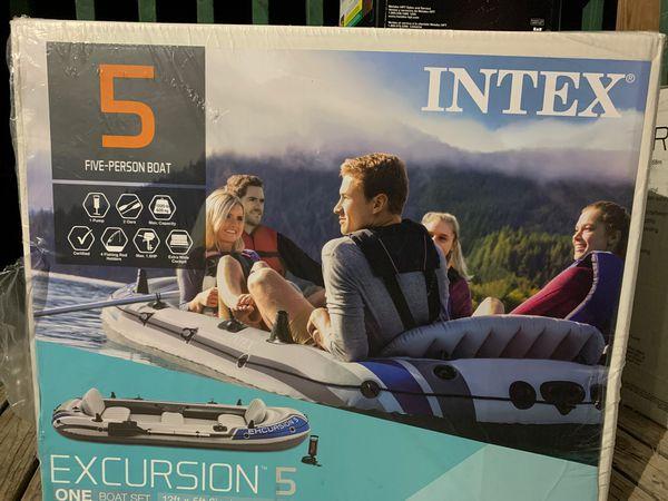 Excursión 5 inflatable boat