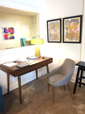 Mid century style study desk! for Sale in Houston, TX