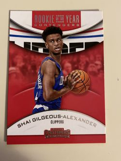 Rookie Shai Gilgeous-Alexander, Rookie Porzingis for Sale in Westport,  CT