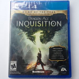 Dragon Age Inquisition Game of the Year Edition PS4 BRAND NEW SEALED for Sale in San Diego, CA