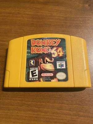 Donkey Kong N64 for Sale in Renton, WA