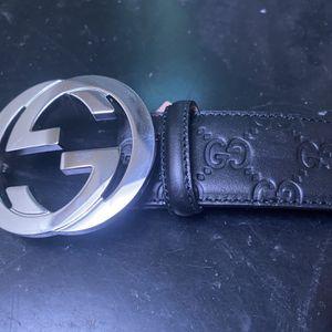 Gucci Signature Leather Belt for Sale in Springfield, VA