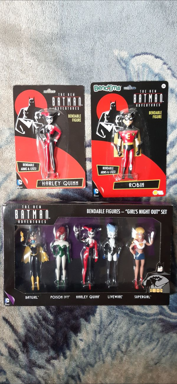 The New Batman Adventures Figures