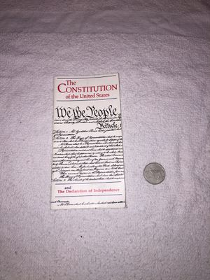 The Constitution of the United States Mini Booklet for Sale in Honolulu, HI