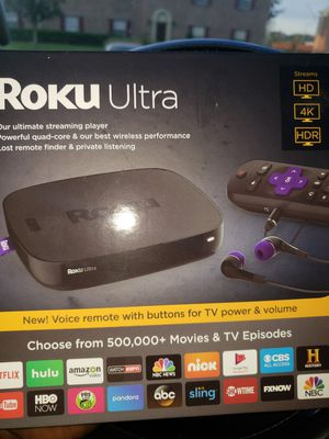 Brand New Roku Ultra for Sale in Lakeland, FL