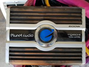 Planet Audio TQ604 600 w power amplifier for Sale in Bellflower, CA