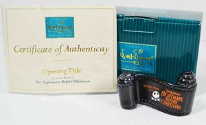 WDCC Disney The Nightmare Before Christmas Opening Title Scroll w/ Box & COA for Sale in Kent, WA