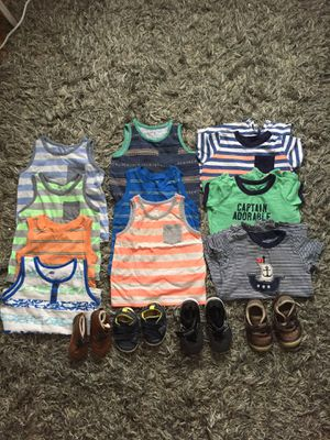 Baby Boy Bundle 12m-2T for Sale in Alexandria, VA